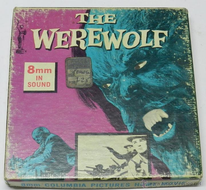 ANTIGUA PELICULA THE WEREWOLF, 8 MM. IN SOUND, COLUMBIA PICTURES HOME MOVIE, B/W, MIDE 13 CMS. APROX (Cine - Películas - 8 mm)