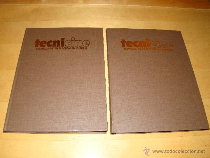 TECNICINE-TECNICAS DE FILMACION EN SUPER 8 (Cine - Películas - 8 mm)
