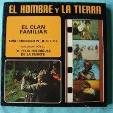 Cine: PELICULA SUPER 8 EN COLOR. EL HOMBRE Y LA TIERRA. SERIE IBERICA. EL CLAN FAMILIAR. Nº 34. Lote 44394365