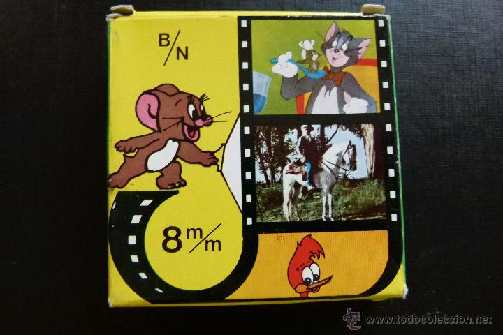 TOM Y JERRY GATO VOLADOR - PELICULA 8MM - BIANCHI (Cine - Películas - 8 mm)