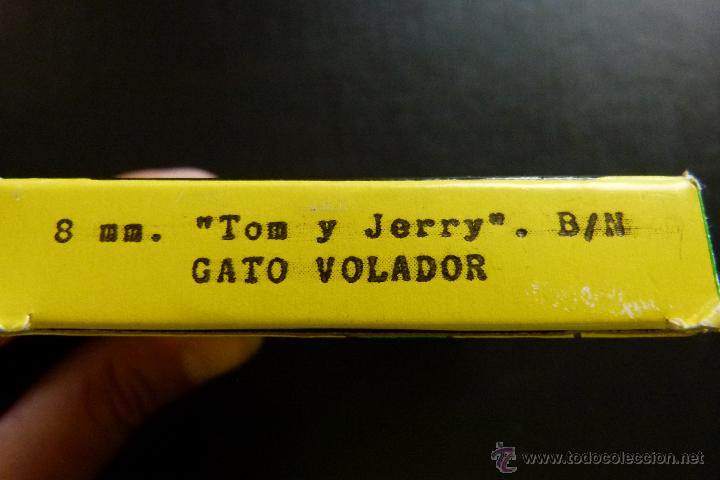 Cine: TOM Y JERRY GATO VOLADOR - PELICULA 8MM - BIANCHI - Foto 3 - 56871975