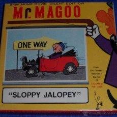 Cine: SLOPPY JALOPEY - MR. MAGOO - CASTLE FILMS. Lote 46913404