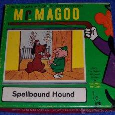 Cine: SPELLBOUND HOUND - MR. MAGOO - CASTLE FILMS. Lote 46913417