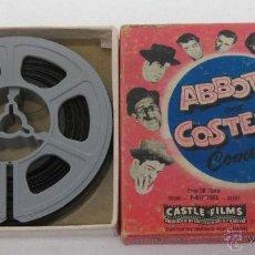 Cine: PELICULA 8 MM ABBOTT AND COSTELLO , 837 NO BULLS,PLEASE, CASTLE FILMS. Lote 49910783