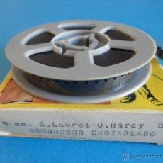 Cine: S. LAUREL - O. HARDY - EL CONDUCTOR ENDIABLADO - 8 MM B/N - BIANCHI. Lote 51127172