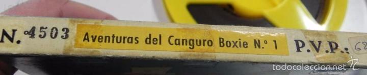 Cine: ANTIGUA PELICULA 8 MM. DIBUJOS ANIMADOS Y MARIONETAS, ARIES FILMS, AVENTURAS DEL CANGURO LOXIE N.1, - Foto 3 - 56224464
