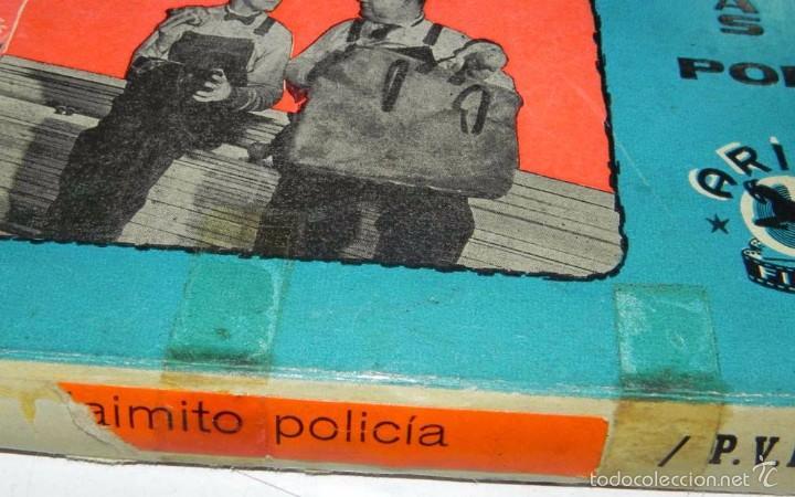 Cine: ANTIGUA PELICULA 8 MM. JAIMITO POLICIA, , VERSION MUDA EN COLOR, ARIES FILMS, VERSION ESPECIAL MUD - Foto 4 - 56227696