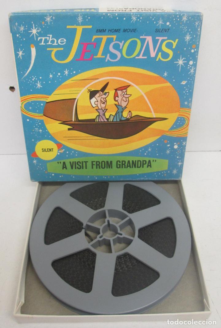 PELICULA 8 MM THE JETSONS, A VISIT FROM GRANDPA, HANNA-BARBERA 1965 (Cine - Películas - 8 mm)
