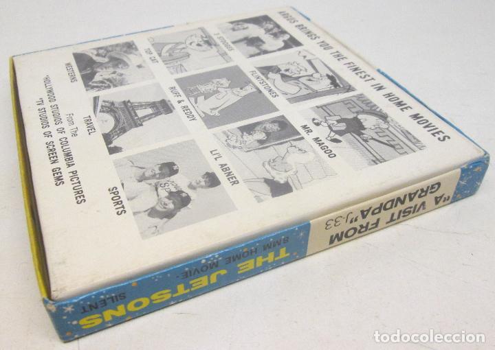 Cine: Pelicula 8 mm THE JETSONS, A VISIT FROM GRANDPA, HANNA-BARBERA 1965 - Foto 2 - 90983295