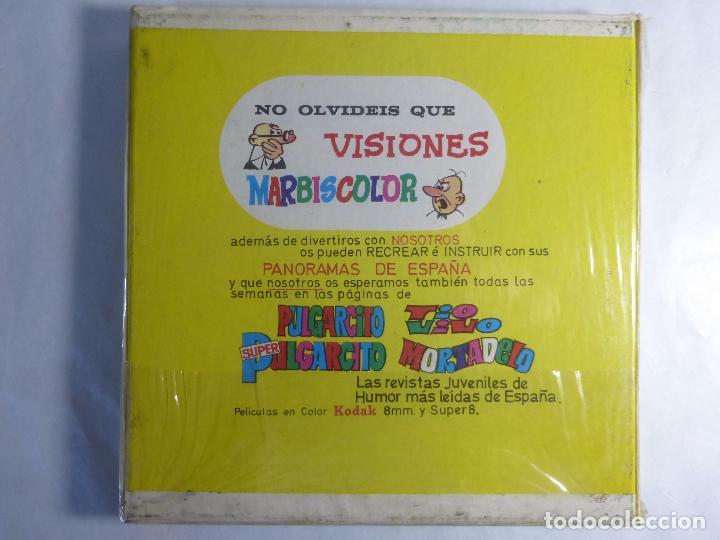 Cine: PELICULA COLOR SUPER 8 MUDO. EL PATITO FEO.. VISIONES MARBISCOLOR. BLISTER ORIGINAL. NUEVO - Foto 2 - 94061800