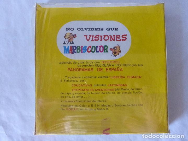 Cine: PELICULA COLOR SUPER 8 SONORO. EL POZO MISTERIOSO.. VISIONES MARBISCOLOR. BLISTER ORIGINAL. NUEVO - Foto 2 - 94062095