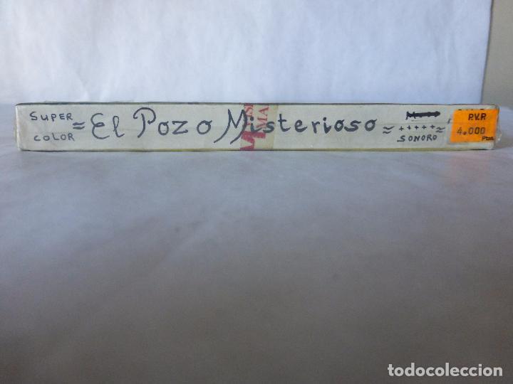Cine: PELICULA COLOR SUPER 8 SONORO. EL POZO MISTERIOSO.. VISIONES MARBISCOLOR. BLISTER ORIGINAL. NUEVO - Foto 3 - 94062095