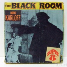 Cine: THE BLACK ROOM - COLUMBIA PICTURES HOME MOVIE 8 MM - SUPER 8 - BORIS KARLOFF TERROR CINE PELÍCULA. Lote 95692515