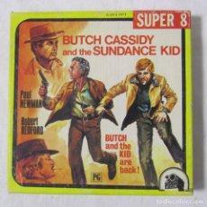 Cine: DOS HOMBRE Y UN DESTINO, BUTCH CASSIDY AND THE SUNDANCE KID, NEWMAN & REDFORD SUPER 8. Lote 98842963