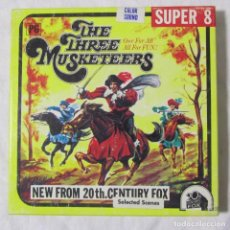 Cine: LOS TRES MOSQUETEROS THE THREE MUSKETEERS SUPER 8. Lote 98850107