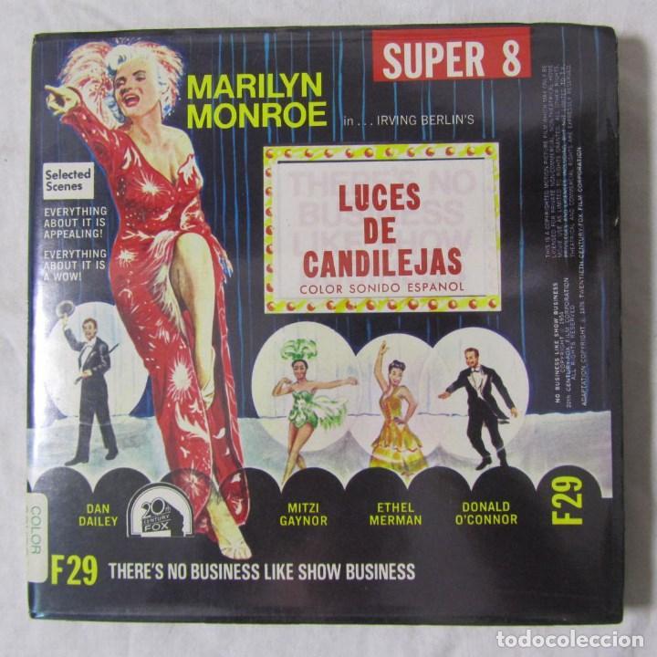 LUCES DE CANDILEJAS, THERE'S NO BUSINESS LIKE SHOW BUSINESS MARILYN MONROE (Cine - Películas - 8 mm)