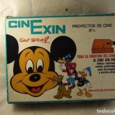 Cinema: PROYECTOR DE CINE CINEXIN COLOR NARANJA CAJA DOCUMENTACION Y. Lote 99921971