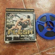 Cine: PELICULA FILM SUPER 8MM DE 60MT PORNO DE FLESH MOVING PICTURE DE LOS AÑOS70. Lote 100911863