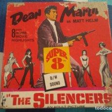 Cine: ANTIGUA PELICULA EN SUPER 8 DE DEAN MARTIN, THE SILENCERS. Lote 103734423