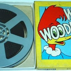 Cine: WOODY WOODPECKER, 8 MM- 519 A BEAT BEATNIK- CASTLE FILMS. Lote 104502847