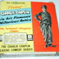 Cine: CHARLIE CHAPLIN IN HIS FAMOUS HILARIOUS ANTICS- 8 MM- AT THE BANQUET.. Lote 104505823