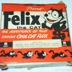 Cine: FELIX THE CAT AND THE BIG AFRICAN GAME- 8 MM- PEAK FILM PRODUCTIONS. Lote 115186298