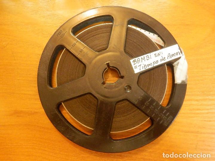 PELÍCULA - 8 MILÍMETROS - MM. - BAMBI EN TIEMPO DE AMOR - FALLS IN LOVE - (Cine - Películas - 8 mm)
