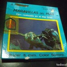 Cine: PELÍCULA SÚPER 8: MARAVILLAS DEL MAR. FILM REALIZADO EN EL MAR ROJO. . Lote 118089671