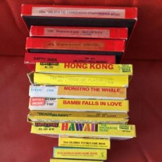 Cine: LOTE DE 10 PELICULAS DE 8 MM. SUPER 8 MM. HAWAII , DAFFY DUCK , BAMBI , MONSTRO , ETC. Lote 118460099