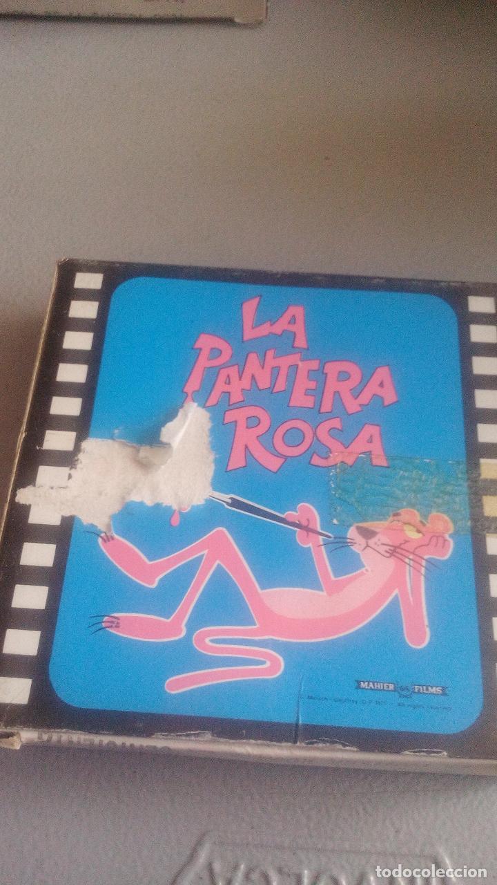 Cine: PELÍCULA CINE BIANCHI - 8MM - LA PANTERA ROSA Y LA CENICIENTA - COLOR - Foto 2 - 119611403