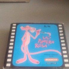 Cine: PELÍCULA CINE BIANCHI - 8MM - LA PANTERA ROSA HACE DEPORTE - BLANCO Y NEGRO. Lote 119611743