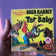 Cine: BRER RABBIT AND THE TAR BABY - PELICULA SONORA EN ESPAÑOL SUPER 8 - DISNEY - COMPLETA. Lote 119764691
