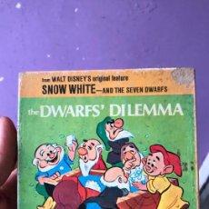 Cine: THE DWARFS DILEMMA- PELICULA SONORA EN ESPAÑOL SUPER 8 - DISNEY - COMPLETA. Lote 119765991
