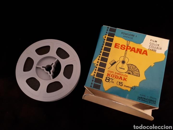 Cine: España Folklore I Andaluz con película Kodak 8 mm. 15 m. - Foto 2 - 124957980