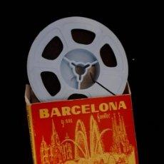 Cine: BARCELONA Y SUS FUENTES. COLOR FARBE. KODAK 8 MM.. Lote 124958515