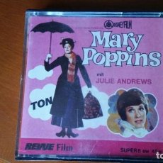 Cine: PELICULA SUPER 8 MARY POPPINS - JULIE ANDREWS - DISNEYFILM. Lote 131178540