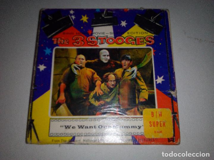 -THE 3 STOOGES-WE WANT OUR MUMMY-8MM-SILENT EDITION- (Cine - Películas - 8 mm)