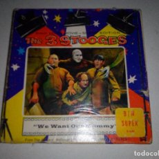 Cine: -THE 3 STOOGES-WE WANT OUR MUMMY-8MM-SILENT EDITION-. Lote 132918070
