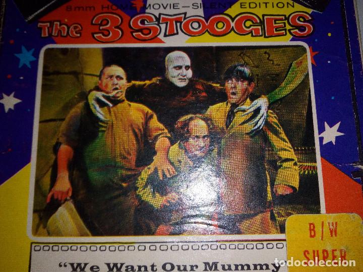 Cine: -THE 3 STOOGES-WE WANT OUR MUMMY-8mm-SILENT EDITION- - Foto 2 - 132918070