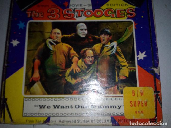 Cine: -THE 3 STOOGES-WE WANT OUR MUMMY-8mm-SILENT EDITION- - Foto 3 - 132918070