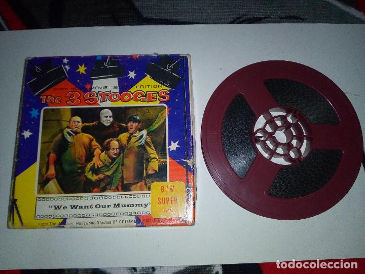 Cine: -THE 3 STOOGES-WE WANT OUR MUMMY-8mm-SILENT EDITION- - Foto 7 - 132918070