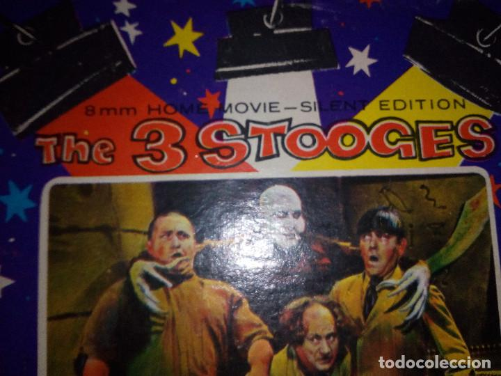 Cine: -THE 3 STOOGES-WE WANT OUR MUMMY-8mm-SILENT EDITION- - Foto 10 - 132918070