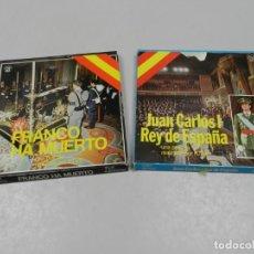 Cine: FRANCO A MUERTO , JUAN CARLOS I REY DE ESPAÑA COLOR Y SONORA. R.T.V.E. Lote 135267438