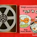 Cine: DIBUJOS ANIMADOS (ANTIGUA PELICULA 8 MM) FIN 'N CATTY (MADE IN USA) A.A.P. CARTOONS - B/N MUDA 13 CM. Lote 138529158