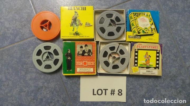 4 PELÍCULAS-8 MM OLD HOME MOVIES RETRO-VINTAGE FILM LOTE # 8 (Cine - Películas - 8 mm)