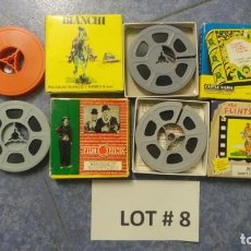 Cine: 4 PELÍCULAS-8 MM OLD HOME MOVIES RETRO-VINTAGE FILM LOTE # 8 . Lote 138794930
