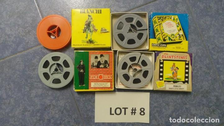 Cine: 4 PELÍCULAS-8 MM OLD HOME MOVIES RETRO-VINTAGE FILM LOTE # 8 - Foto 8 - 138794930