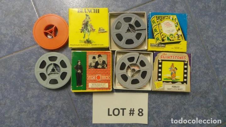 Cine: 4 PELÍCULAS-8 MM OLD HOME MOVIES RETRO-VINTAGE FILM LOTE # 8 - Foto 10 - 138794930