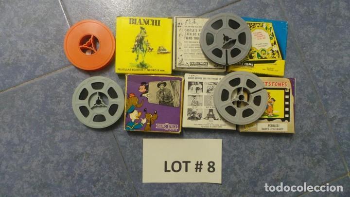 Cine: 4 PELÍCULAS-8 MM OLD HOME MOVIES RETRO-VINTAGE FILM LOTE # 8 - Foto 11 - 138794930