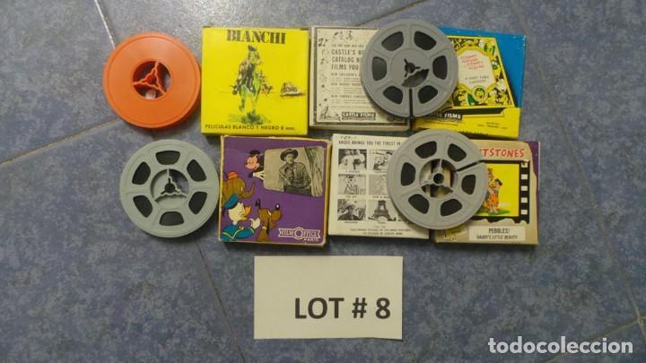Cine: 4 PELÍCULAS-8 MM OLD HOME MOVIES RETRO-VINTAGE FILM LOTE # 8 - Foto 12 - 138794930